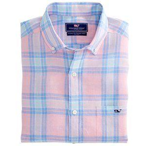 Vineyard Vines Plaid Classic Tucker Shirt - M